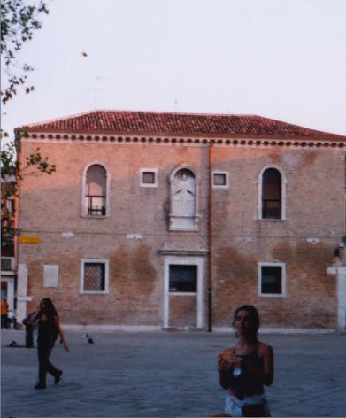 María Cruz Planchuelo in Venice, Italy (Photo: Eryn Rosenthal)