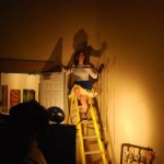 Eryn atop the ladder 150x150 60% OFF ALL CUSTOM FRAMING*