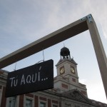 Tu Aqui and Puerta del Sol clock tower 150x150 Tú Aquí