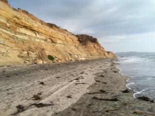 Canyon, beach, ocean by Molly Lieber