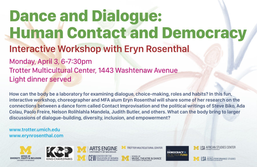 Dance and Dialogue Trotter Workshop poster 900x587 Dance and Dialogue: Human Contact and Democracy