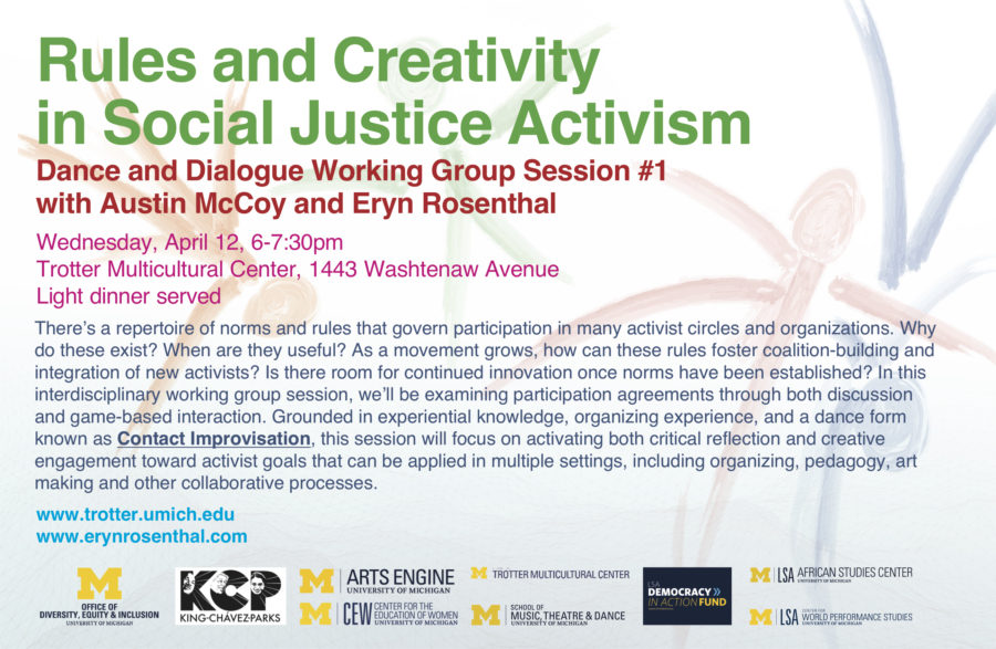 Rules and Creativity Activism Working Group 1 poster jpg 900x587 Rules and Creativity in Social Justice Activism